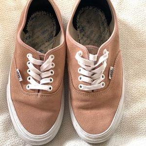 Nude Vans Sneakers
